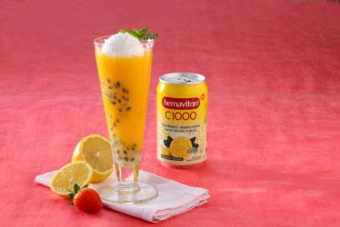Resep Buah Tropis: Ice Manggo Markisa Lemon
