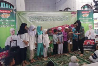 Wujudkan Ramadhan Plus-mu dengan berbagi untuk sesama  bersama hemaviton Stamina Plus